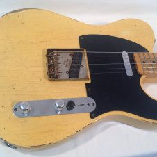 Relic TimeWarp 52 TW52 Fender Road Worn 50s Tele Telecaster Only 7 lb 3 oz! American Vintage Pickups