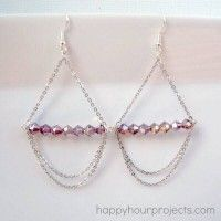 Beautiful Bicone Jewelry Making Tutorials