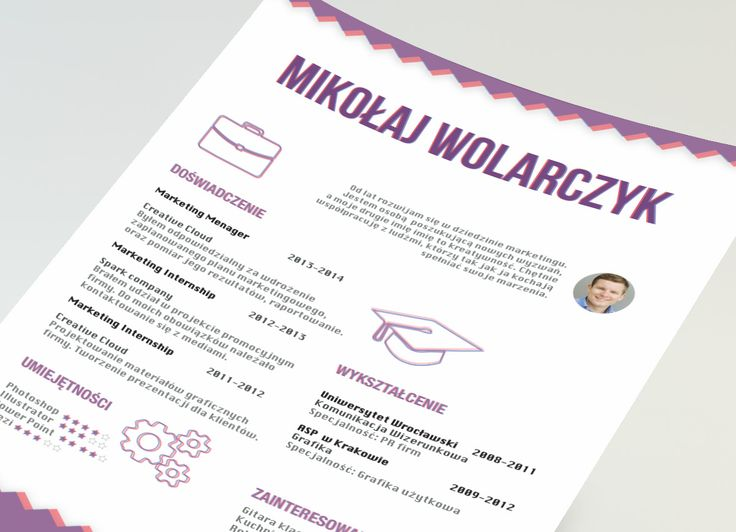148 best Creative resume by CVdesign images on Pinterest Plants - find resume