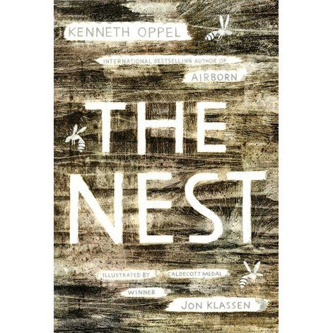 The Nest - Kenneth Oppel For some kids, summer is a sun-soaked season of fun but not for Steve who worries about his family and even the wasp's nest looming ominously over the eaves. So when a mysterious wasp queen invades his dreams, offering to 'fix' his family's problems, Steve thinks his prayers have been answered.