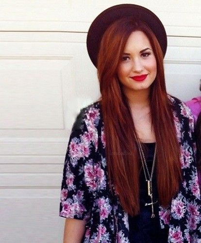Trendy Hair Style : demi lovato red hair photoshoot Google Search