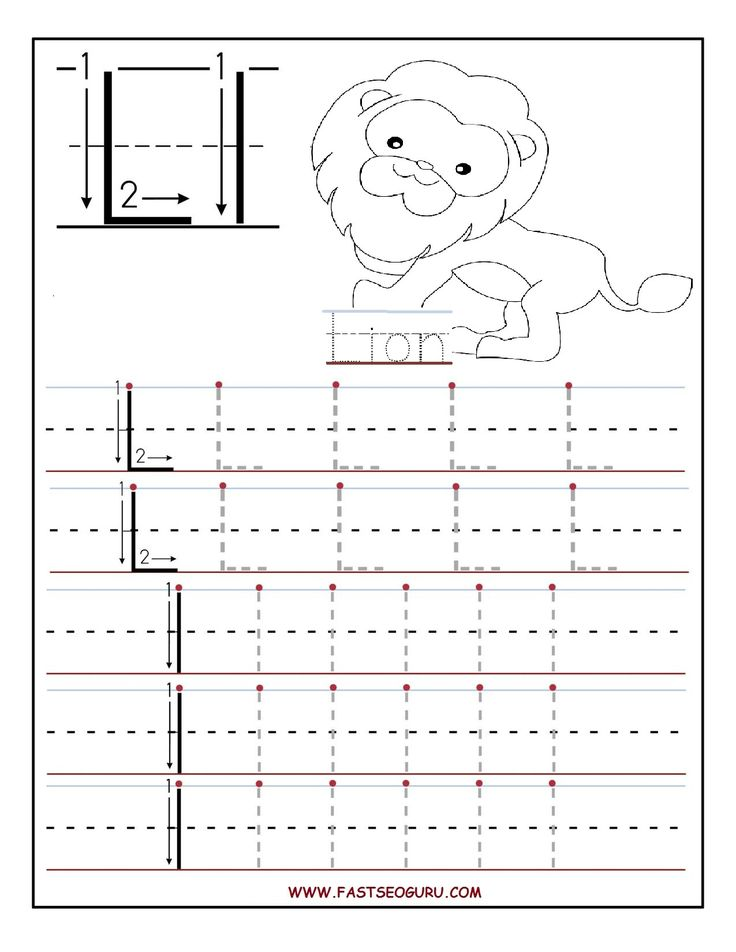 printable letter l tracing worksheets for preschool education pinterest worksheets. Black Bedroom Furniture Sets. Home Design Ideas