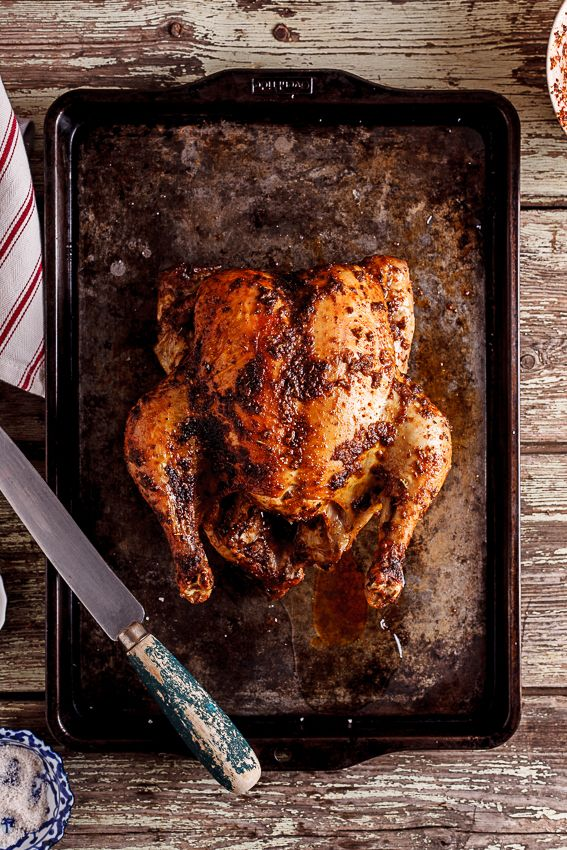 "Everyone should know how to make a seriously great roast chicken and this one totally deserves its ""kick-ass"" title. #recipe"