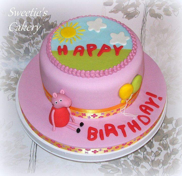 LITTLE GIRL BIRTHDAY CAKES IMAGES | Peppa Pig Birthday Cake - by sweetiescakery @ CakesDecor.com - cake ...