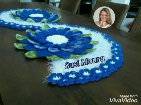 Vídeo Aula Flor Estrelícia - Crochê - Desi Winters - YouTube