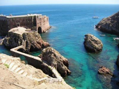 Forte de S. Joao Baptista, Ilha Berlengas, Portugal!