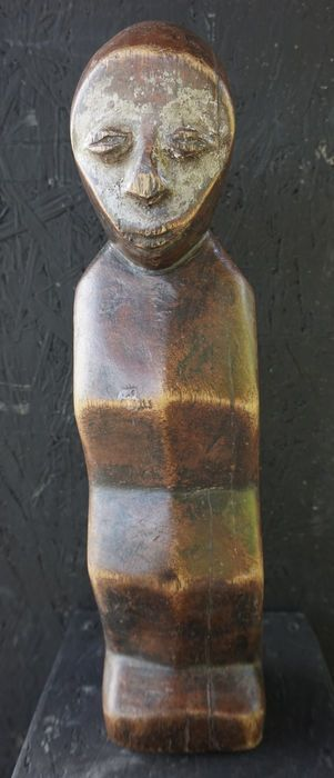 Catawiki online auction house: African zig zag sculpture - LEGA - Democratic republic of Congo