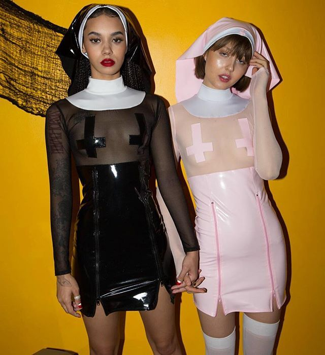 Dolls Kill Sinful Mama Don't Preach Costume cuz it's nun of anyone's damn bizness if yer a sinful sister!