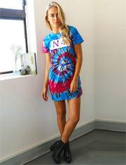 Stussy Loom Tie Dye Tee Dress