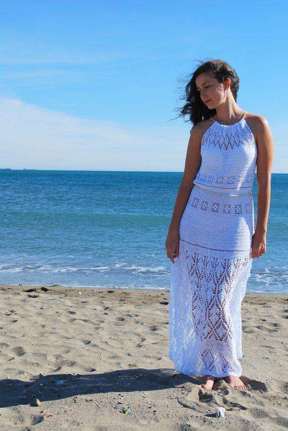 Hey, I found this really awesome Etsy listing at https://www.etsy.com/listing/107310121/beach-wedding-dress-white-crochet-maxi