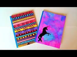 Resultado de imagen para diy decoracion cuadernos
