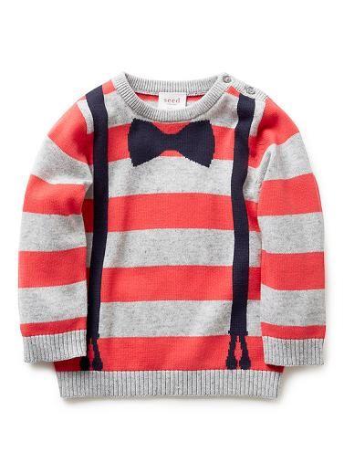 Baby Boys Knitwear & Jumpers | Bracer Jumper | Seed Heritage