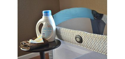 How to Clean a Baby's Playpen