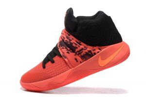 13b6fd264b0 Mens Nike Kyrie 2 Inferno Crimson Red Black 819583-680 Basketball Shoes