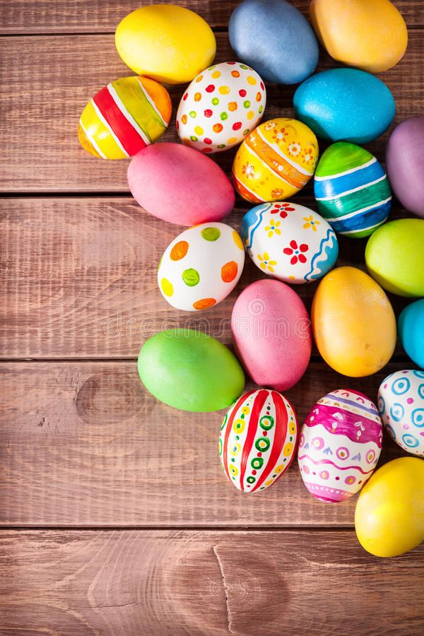 Easter Eggs On Wooden Background Affiliate Eggs Easter Background Wooden Ad Easter Wallpaper Happy Easter Wallpaper Easter Backgrounds