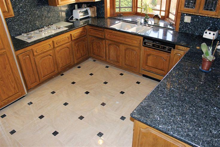 Blue Pearl Granite Floor Tiles