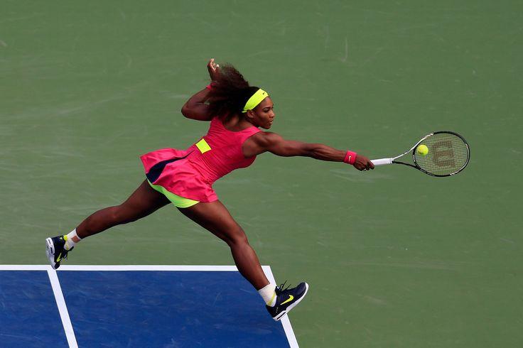 Serena Williams Photos: 2012 US Open - Day 4