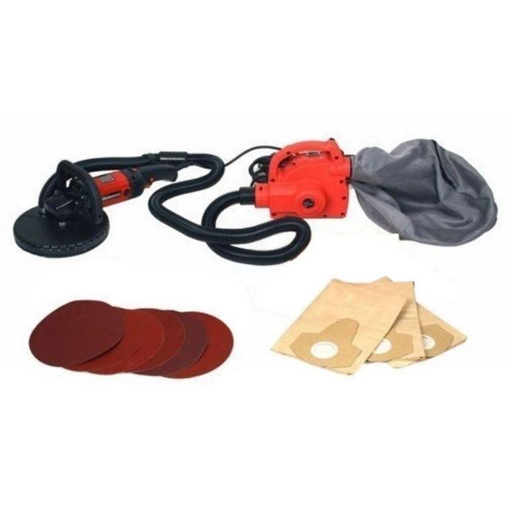 800-Watt Electric Variable Speed Drywall Sander and Vacuum Cleaner with Bag