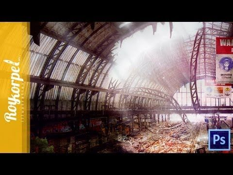 Abandoned Amsterdam CS | Photoshop CS6 Speed Paint Time Lapse video