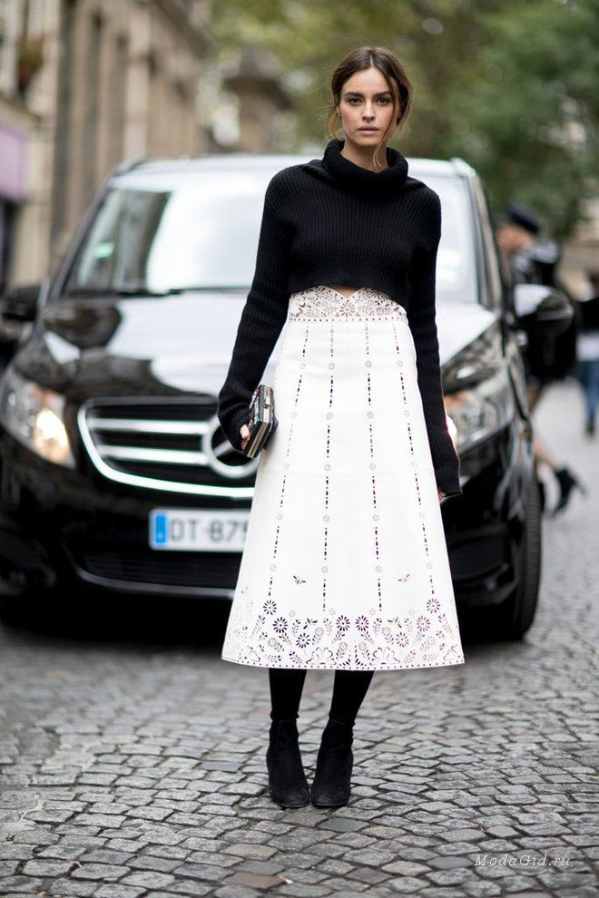 Уличная мода: Уличный стиль недели моды в Париже весна-лето 2017
