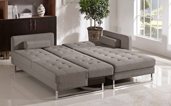 Soho Fabric Sofa Chaise + Bed