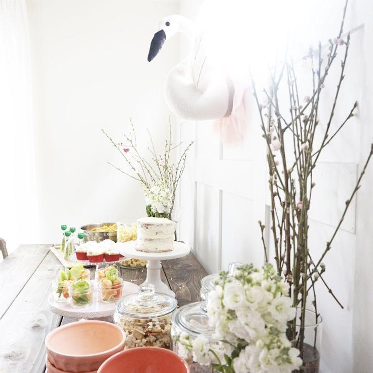 Little girls Swan Birthday Party // Swan Lake Birthday Party // Swan Party Theme