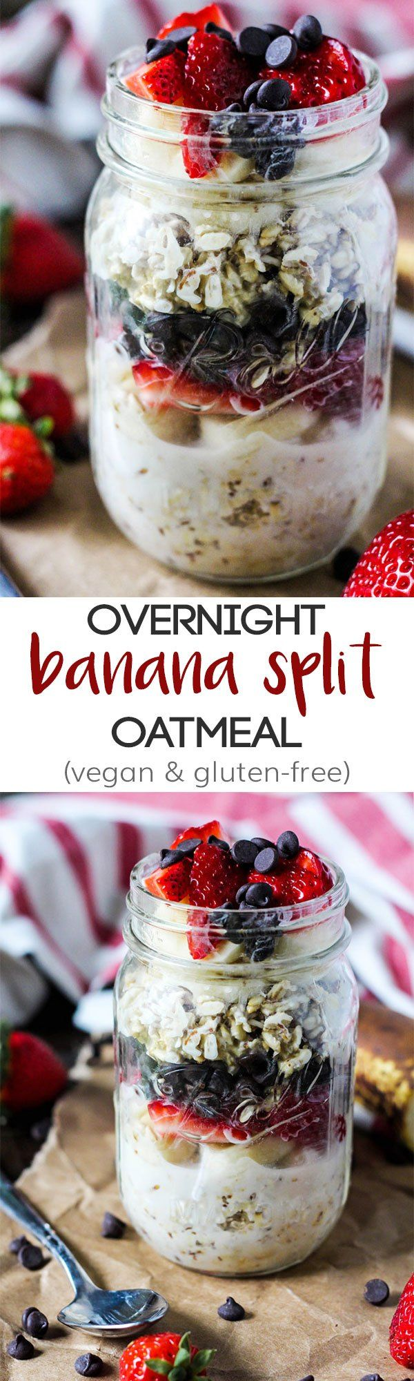 This classic dessert gets a healthy breakfast makeover! Make some Overnight…