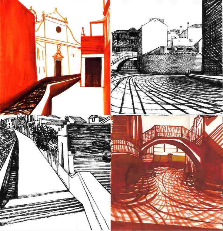 Lorenzo mattotti - venice sketches