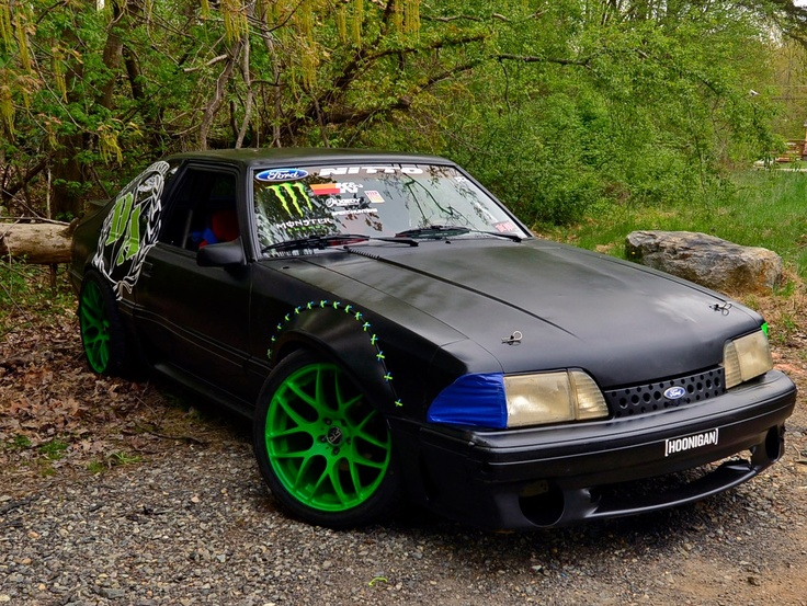 vaughn gittin jr 39 s fox body rtr missile mustang cars. Black Bedroom Furniture Sets. Home Design Ideas
