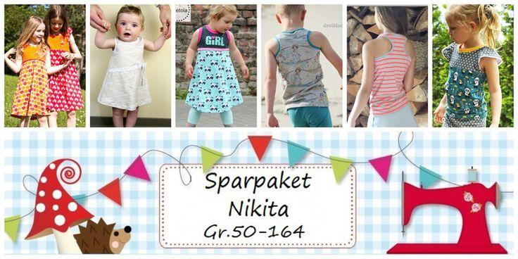 E-Books & Anleitungen - E Book Sparpaket Nikita Sundress&Tanktop Gr... - ein Designerstück von Lolletroll bei DaWanda