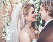 People Magazine reports that Ann Arbor-based ice dancers Tanith Belbin (Olympic silver medalist who's studied at EMU) and Charlie White (Olympic gold medalist and U-M student) got married in front of about 130 friends and family members at West Bloomfield's Planterra Conservatory on Saturday evening