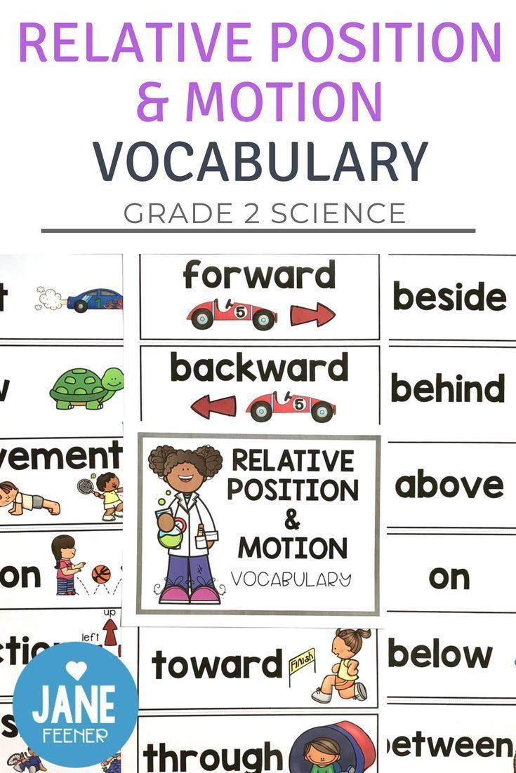 Are You Teaching The Grade 2 Science Unit Relative Position And Motion You May Like To Try Using Grade 2 Science Science Classroom Science Teaching Resources [ 1102 x 735 Pixel ]