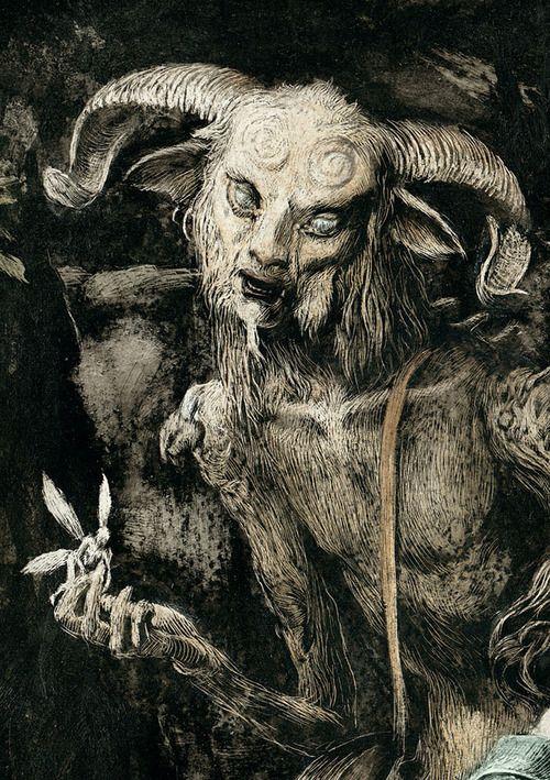 Santiago Caruso, Pan's Labyrinth I