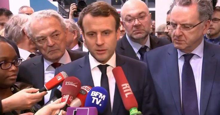 En visite au Salon de l'Agriculture, l'ancien ministre de l'économie a rapidement réagi après l'annonce du maintien de la candidature du candidat de la droite.