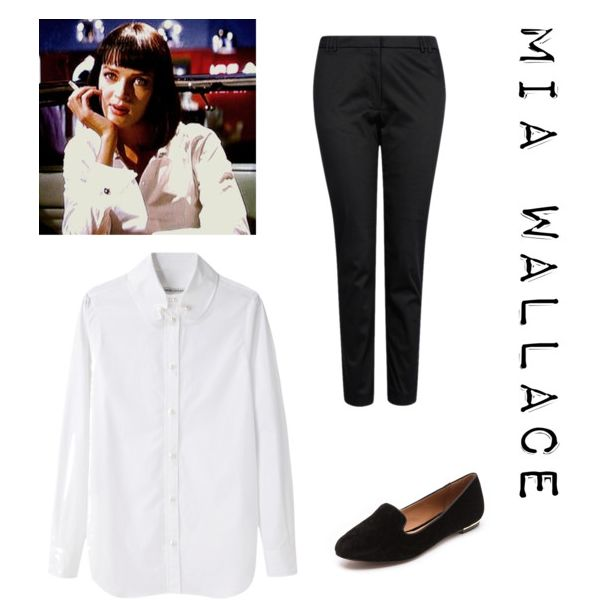 Mia wallace inspired halloween costume from costumes pinterest - Deguisement pulp fiction ...