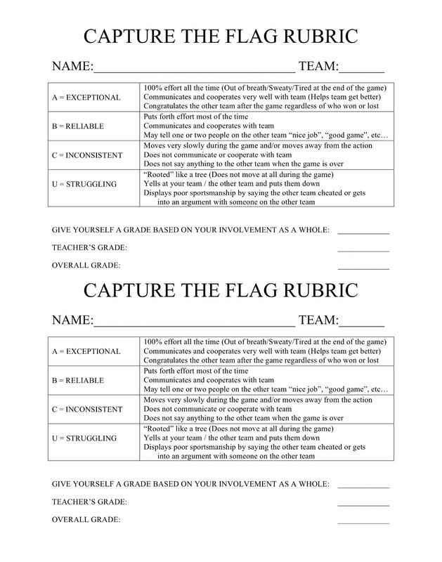 49 best Assessment in pe images on Pinterest Game, Alphabet and - physical education lesson plan template