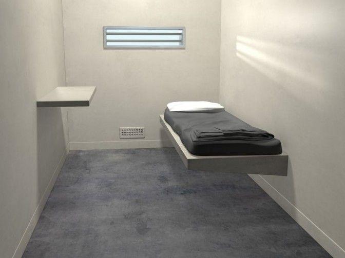 Zeph's holding room