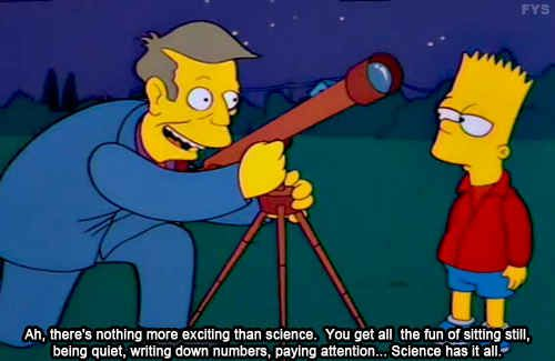 Science is great #Simpsons funny science quote