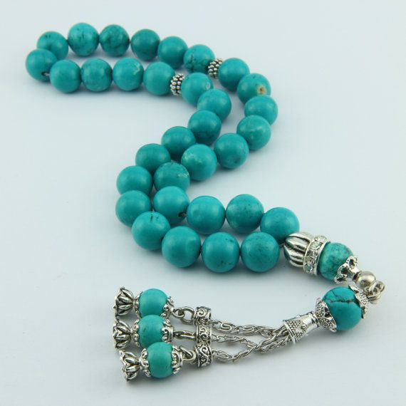 Check out this item in my Etsy shop https://www.etsy.com/listing/259399793/big-turquoise-gemstone-33pcs-islamic