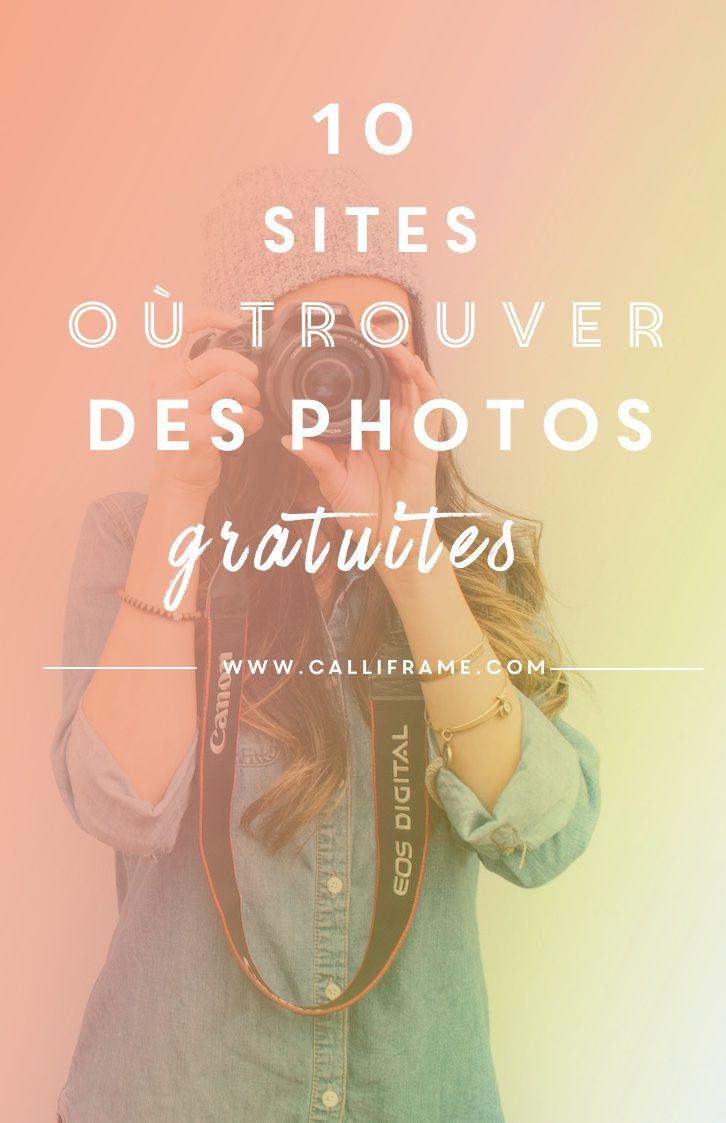 10 sites où trouver des photos gratuites