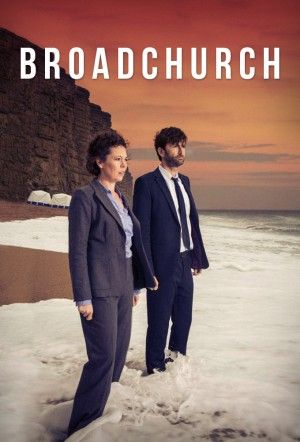 Broadchurch es una serie de suspense de la cadena británica ITV. La serie versa sobre la muerte en circunstancias sospechosas de un niño de 11 años y la investigación subsiguiente para encontrar al asesino.
