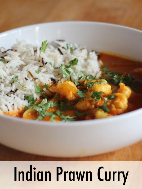 Indian Prawn Curry Recipe | Rosalilium