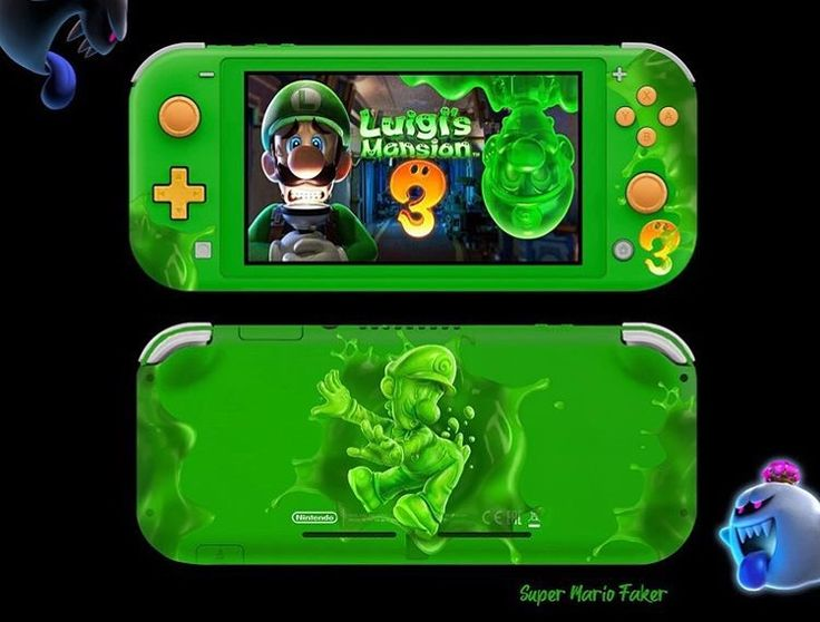 Would be great to have a Gooigi Switch Lite to take it on