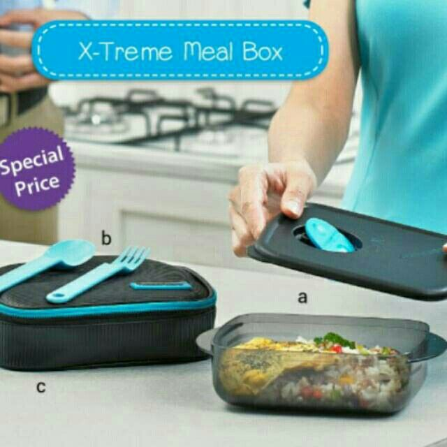 Saya menjual X-Treme Mealbox - Free ongkir se Jabodetabek seharga Rp160.000. Dapatkan produk ini hanya di Shopee! http://shopee.co.id/tuppylovers/2369800 #ShopeeID