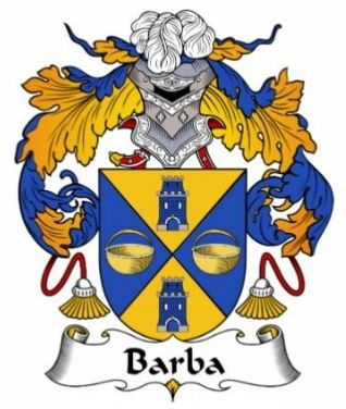 Barba family crest