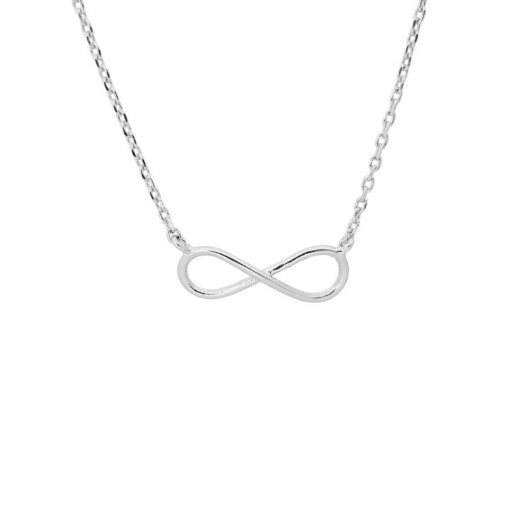 Infini Silver Necklace