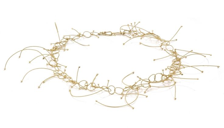 Liliana Guerreiro | Collections - Handmade 19 carat gold necklace, with a filigree technique
