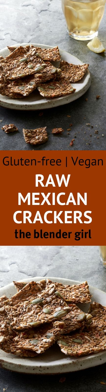 Looking for delicious raw and vegan cracker recipes? These crispy Mexican vegetable crackers are gluten free, and so easy!