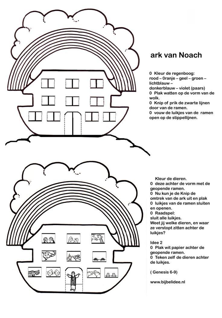 Ark Van Noach Welke Dieren Zitten Er Achter De Luikjes