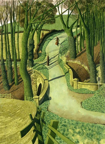 """""""Two Images of Himself in the Future"""" by Simon Palmer"""